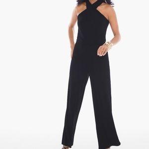 Chico's twist front jumpsuit- Black